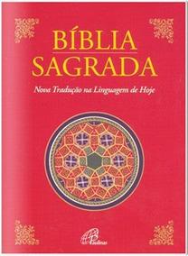 Bíblia Sagrada Nova Tradução Na Linguagem De Hoje