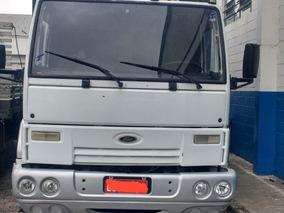Ford Cargo 1418 Baú Sider Muito Conservado 1988
