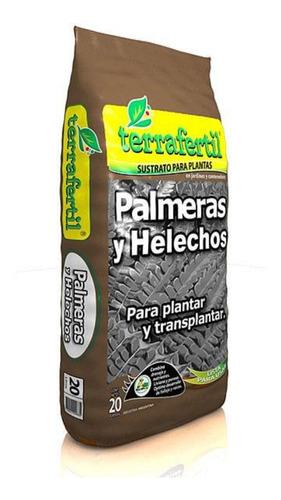 Sustrato Para Palmeras Y Helechos 20 Litros Terrafertil