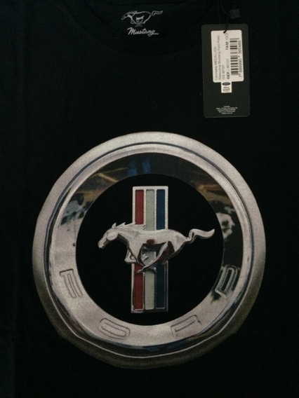 Camiseta Ford Mustang Medallion Original Ford*