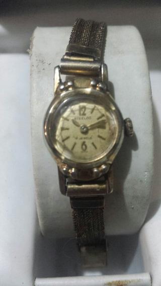 Reloj Vintage Steelco De Cuerda Para Dama Años 60