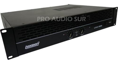 Potencia Lexsen Lxa 600 Amplificador Profesional 600w Power