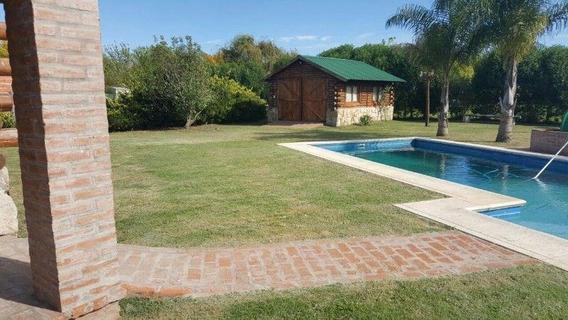 Casa Alquiler 4 Dormitorios, 3 Baños , Piscina Y Lote 20 X 60 -haras Del Sur 1