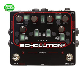 Pedal De Efecto Pigtronix Delay Echolution 2 Deluxe + Cuotas