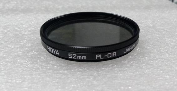 Filtro Polarizador Cpl Hoya 52mm Original - Nikon Canon Sony