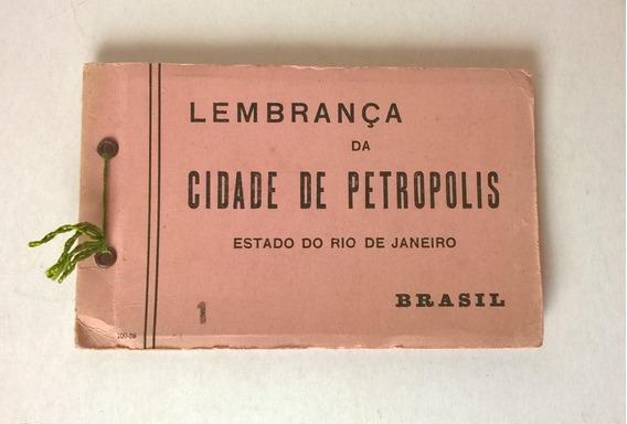 Album Tarjetas Postales Antiguas Petrópolis Década