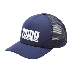Boné Puma Trucker Style Azul-marinho Original Promoção