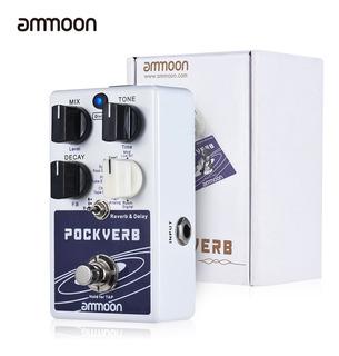 Ammoon Pockverb Reverb & Delay Pedal De Efectos De