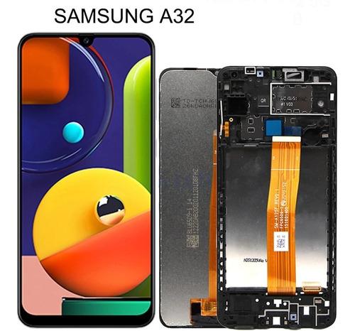 Pantalla Lcd Completa Samsung A32  Somos Tienda Heredia