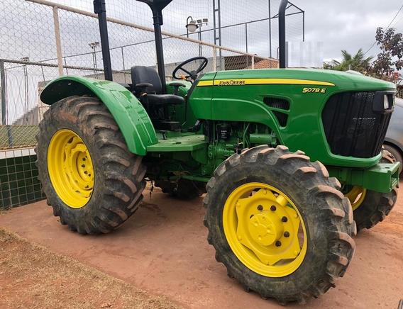Trator Agrícola John Deere 5078e - 2012 - 4x4