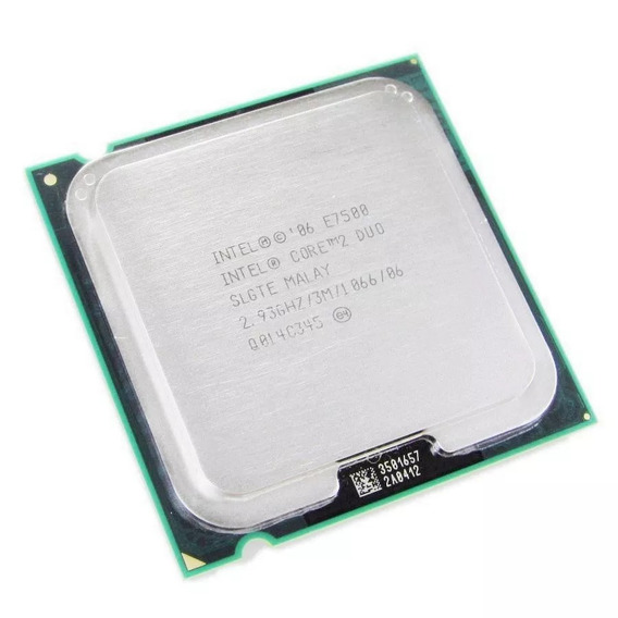 Core 2 Duo E7500 - Sem Cooler