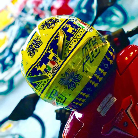 Capacete Valentino Rossi Vr46 Missano