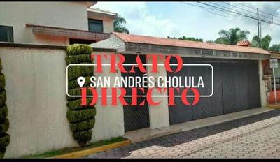 Hermosa Residencia En Zavaleta, San Andres Cholula Puebla