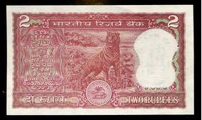 Cédulas Da Índia (4) - Flor De Estampa - L.383