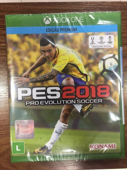 Pes - Pro Evolution Soccer 2018 Xbox One-midia Fisica Lacrad