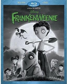 Blu-ray + Dvd Frankenweenie / De Tim Burton