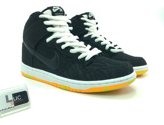 Tênis Nike Dunk High Pro Skunk Original