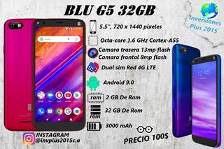 Telefono Blu G5 Dual Sim Android 9