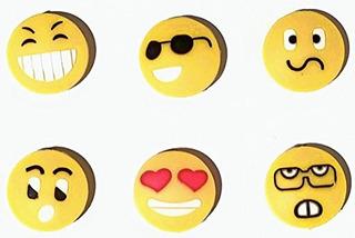 Tenis Antivibradores-emoji Caras, Accesorios De Tenis Para N