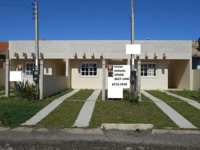 Casa Geminada Com Laje De Concreto No Centro, Imbé. - Codigo: Ca0261 - Ca0261