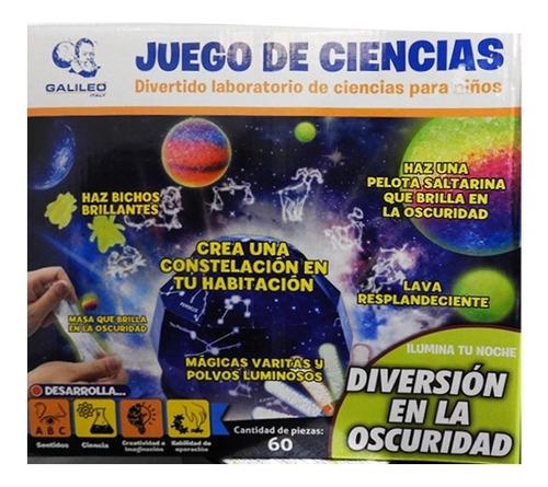 Galileo Juego De Ciencias Diversión En La Oscuridad Jc-1002
