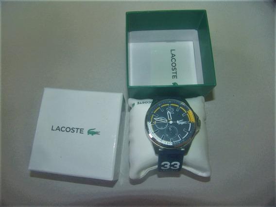 Relógio Lacoste Capbreton Design Marítimo