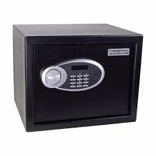 Caja Fuerte De Seguridad Con Su Llave Y Clave Digital