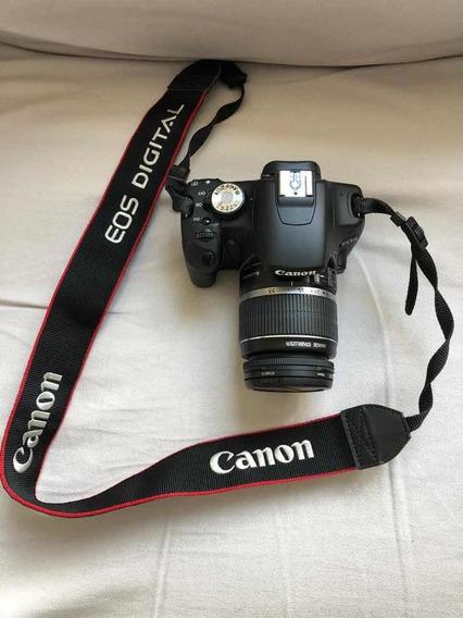 Camera Canon Eos Rebel T1i (2 Lentes)