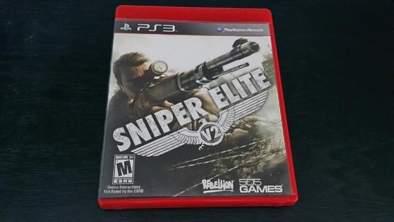 Sniper Elite V2 Ps3 Mídia Física
