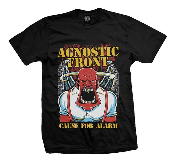 Remera Agnostic Front Cause For Alarm