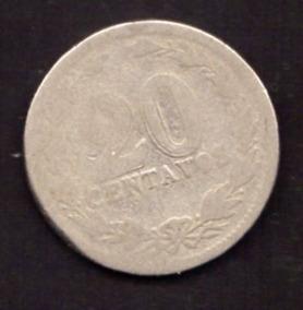Argentina 20 Centavos 1910 Oferta ( M 23) Imperdible Vea