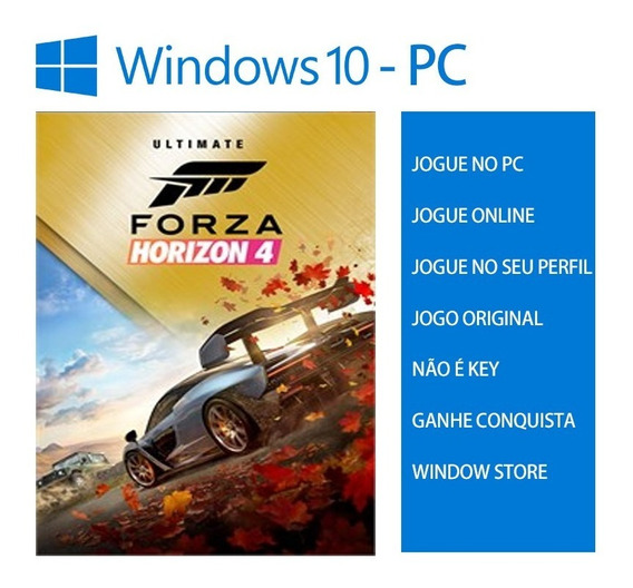 Forza Horizon 4 Ultimate Pc Forza 4 Suprema Original