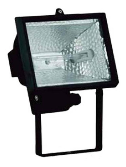 Refletor Halogeno Bivolt Preto Até 150w - Avant