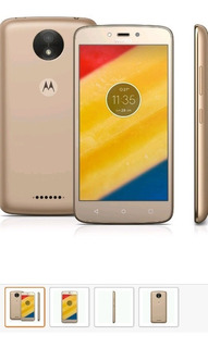 Smartphone Da Motorola, Modelo Moto C Plus Tela De 5.0