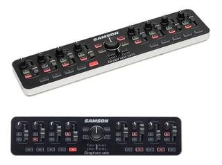 Controlador Mini Usb Samson Graphite Mf8 Rd Music Store