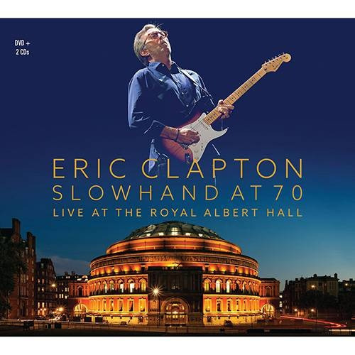 Eric Clapton - Slowhand At 70 - 2 Cds + 2dvds + 1livro