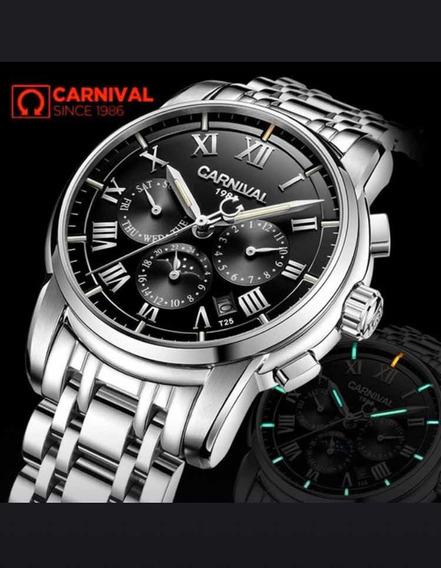 Relógio Carnival T25 Trítio Luxo
