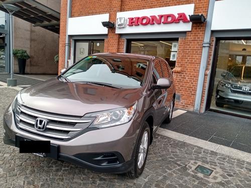 Honda Cr-v Lx At 2013 Marrón 105000kms