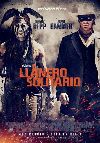Poster Original Cine El Llanero Solitario (motivo 2)