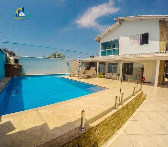 Sobrado Com 4 Dormitórios À Venda, 190 M² Por R$ 780.000 - Solemar - Praia Grande/sp - So0060