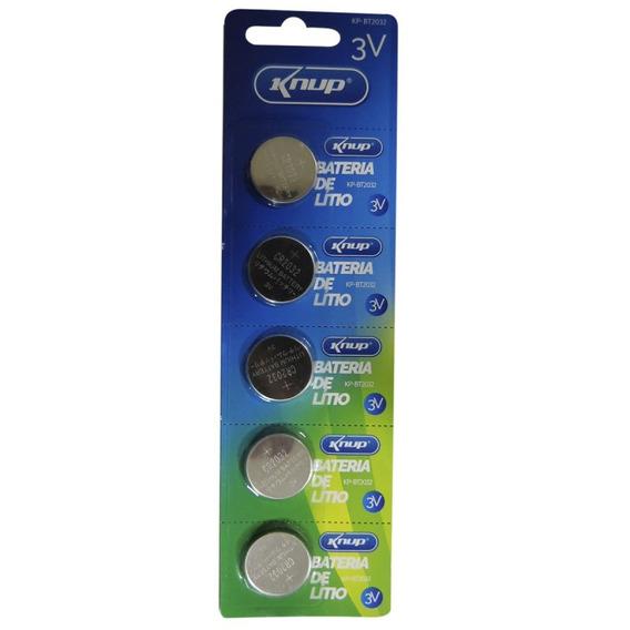 Bateria Cr2032 3v Lithium Kit 100 Unidades Cartela Placa Mãe
