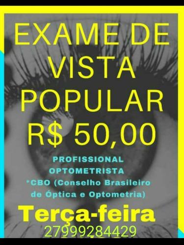 Exame De Vista,  15/06/21