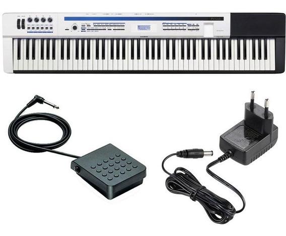 Piano Digital Casio Privia Px5s + Pedal Fonte 1 Ano Garantia