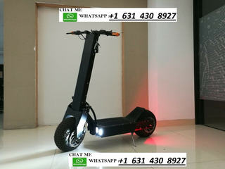 Electric Scooter 5600w/60v Two Wheel 11in. Folding Off Road