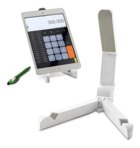 Soporte Para Tablets Antideslizante Y Ajustable X 2 Unidades