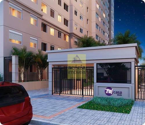 Imagem 1 de 30 de Studio Com 1 Dormitório À Venda, 26 M² Por R$ 181.418,00 - Brás - São Paulo/sp - St0045