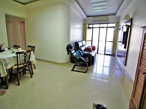 Imagem 1 de 27 de Apartamento Duplex  Reformado À  Venda - Praia Da Astúrias - Guarujá Sp - 3 Dormitórios - 2 Salas - 4 Banheiros - 1 Vaga - Ad0009 - 34710757