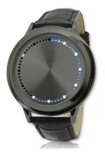 Reloj Led Hombre Touch Negro