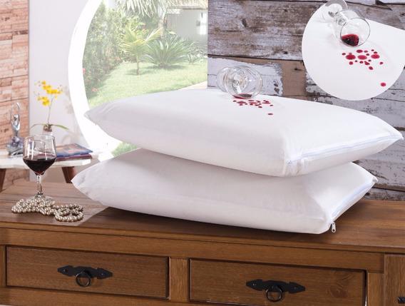 Kit 10 Fronhas Impermeáveis Capa Protetora Travesseiro