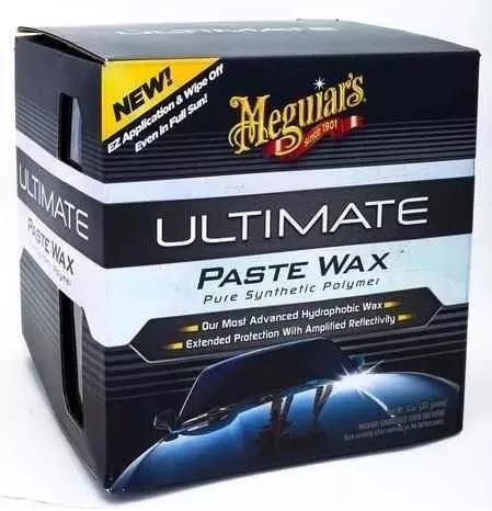 Cera Meguiars Ultimate Paste Wax G18211 +flanela E Aplicador